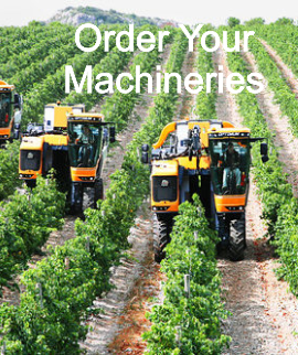 Order Your Machinery and Equipment